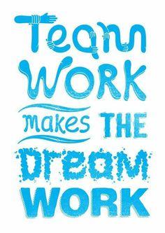 TEAM WORK makes the DREAM WORK... Get Results... Together Everyone Achieves More. .. Www.fitteam.com/judikozminske