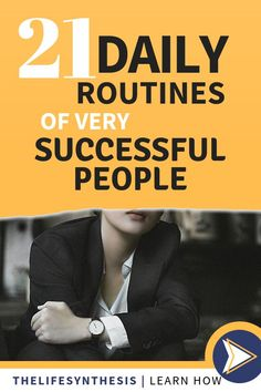 Daily Routine Examples to Help you Take Charge of Life! - Health and wellness: What comes naturally List Of Habits, Habits Of Successful People, Good Habits, Healthy Habits, Daily Routine Schedule, Daily Routines, Morning Habits, Morning Routines, Be Organized