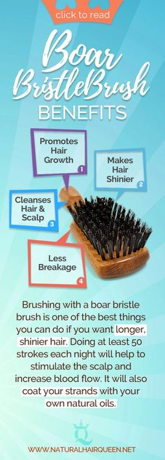 In this article, you'll find out all about boar bristle brushes so you can decide whether to include them in your routine. Keep reading if you want to know whether boar brushes are good or bad for natural hair. Natural Hair Care | Natural Hair Tips | Heal
