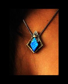 A close-up of Uhura's vulcan amulet from star trek beyond (original design model)