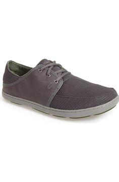 Main Image - OluKai 'Nohea' Lace Up Sneaker (Men). Lace UpMen's StyleSneaker MeshNordstromSlippersSneakersPlimsoll ShoeFishnet
