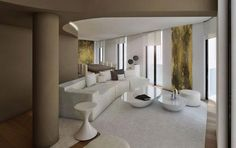 cero-presenta-reforma-interior-un-apartamento Palace Interior, Oversized Mirror, Bathtub, Bathroom, Furniture, Home Decor, Towers, Apartments, Interiors