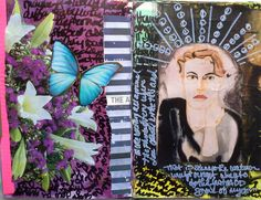 Art Journal pages - Cindy M. Bell