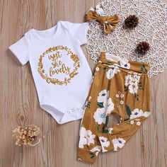 Isn't She Lovely Print Set Isn't She Lovely Print Set - Cute Adorable Baby Outfits Cute Baby Girl Outfits, Baby Outfits Newborn, Outfits Niños, Kids Outfits, Baby Girl Fashion, Kids Fashion, Babies Fashion, Baby Kids Clothes, Baby Girl Clothing