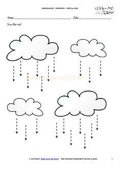 Free printable vertical straight lines worksheets for Kindergarten! Vertical lines worksheet 1 Line Tracing Worksheets, Nursery Worksheets, Worksheets For Kids, Tracing Lines, Preschool Writing, Kindergarten Math Worksheets, Prewriting Skills, Pattern Worksheet, Pre Writing