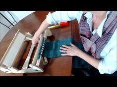 A Simple Method to Remove Weaving from the Rigid Heddle Loom - YouTube