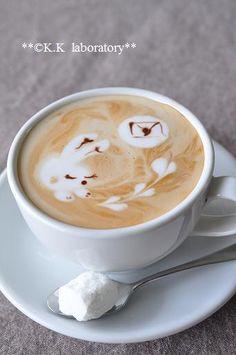 fall in love bunny coffee