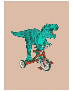 I Love Dinosaurs Dinosaur Wallpaper, Wallpaper Animes, Illustration Art, Illustrations, Dinosaur Art, Funny Art, Grafik Design, Jurassic Park, T Rex