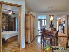 Condo a vendre Montréal, 4713, rue de la Roche, immobilier Québec   DuProprio Rue, Mirror, Furniture, Home Decor, Real Estate, Decoration Home, Room Decor, Mirrors, Home Furnishings