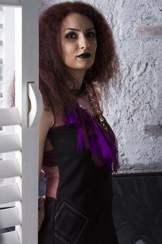 Black Yoke Dress
