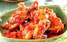 4 Resep Masakan Olahan Ayam dan Cara Pembuatan Lebih Enak Tandoori Chicken, Meat, Ethnic Recipes, Food, Red Peppers, Essen, Meals, Yemek, Eten
