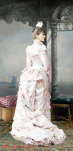Grand Duchess Elisabeth Feodorovna of Russia (born Eliabeth 'Ella'of Hesse, mother was Queen Victoria's daughter Alice - married Alexander III's youngest brother Serge