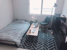 65 Trendy Home Minimalist Bedroom Spaces Small Bedroom Designs, Small Room Bedroom, Home Bedroom, Bedroom Decor, Bedrooms, Deco Studio, Room Interior, Interior Design, Hm Home