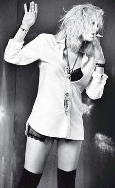Courtney Love never met her