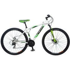 Mongoose Deception 29 inch Men's Mountain Bike, Green