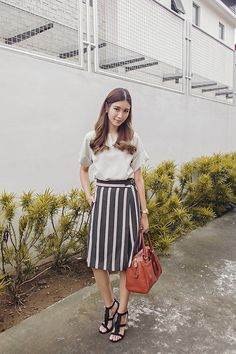 Get this look: http://lb.nu/look/7774978  More looks by Tricia Gosingtian: http://lb.nu/tgosingtian  Items in this look:  G Market Top, Murua Culottes, Coach Bag, Payless Heels   #casual #chic #classic