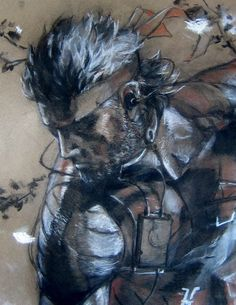 headlesssamurai: Naked Snake detail by devious101