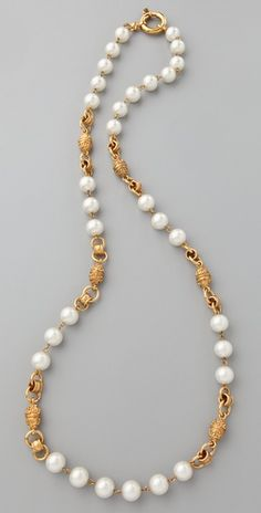 Vintage Chanel Pearl Necklace