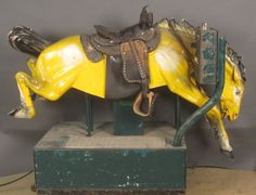 Antique Bucking Horse - I wish I could ride him right now...here's my quarter!