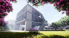 My Concept Villa Design 3dsmax+Lumion