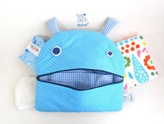 Stroller Nappy Changing Bag  Zé Nappie-glutton  funny by Zezling