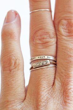 Trust Your Guts Ring | ascot + hart