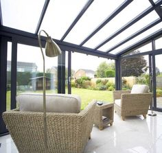 Discover a huge range of conservatories online from EYG - UK conservatory specialists since Lean To Conservatory, Conservatory Ideas, Conservatories, Outdoor Furniture Sets, Outdoor Decor, Beautiful Space, Home Decor Styles, Small Spaces, Home Improvement