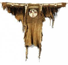 1893.67.4 - overall view Blackfoot War Shirt