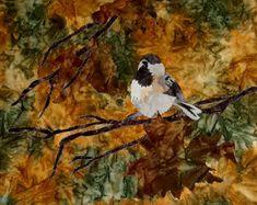 Fabric Collage, machine stitched, mounted on canvas 20x16 Sold Collage, Stitch, Canvas, Fabric, Painting, Art, Tela, Tejido, Art Background