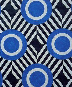 Liubov Popova  Textile design  1924. Looks very contemporary!