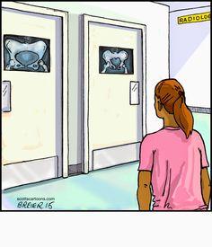 Scott's Cartoons- Noodles : Radiology