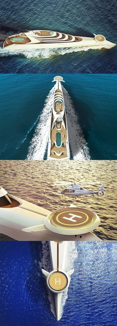 L'AMAGE, one of the largest luxury superyacht projects in the world, combines today's technology and manufacturing techniques with futuristic superyacht style to entertain 30 guests and 70 crew over a whopping 190 meters. Read More: http://www.yankodesign.com/2016/11/16/one-lux-ocean-liner/