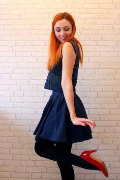 Ma tenue de Noël - ladyBUGberry - Blog mode, DIY, lifestyle d'une enfant du Sud-Ouest exilée à Strasbourg