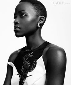 Lupita Nyong'o Covers Dujour Magazine