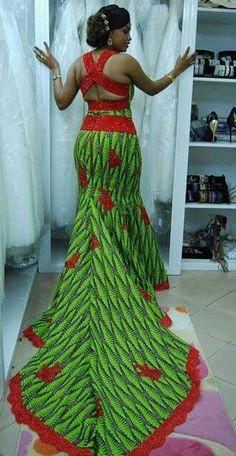Stylish, Exquisite and Trendy Ankara Styles - Wedding Digest NaijaWedding Digest Naija African Dresses For Women, African Print Dresses, African Print Fashion, Africa Fashion, African Attire, African Fashion Dresses, African Wear, African Prints, Ghanaian Fashion
