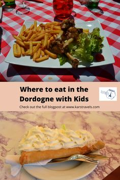 The Dordogne is full of good restaurants where you can eat. Here we highlight 7 places you can eat in the Dordogne with kids. Crepes And Waffles, European Travel Tips, Love Eat, Good Pizza, Best Places To Eat, Foodie Travel, So Little Time, Tasty Dishes, Street Food