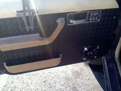 diamond plate for jeep cherokee | AWESOME !