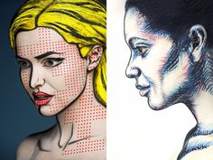 Photog Uses Face Paint to Create Stunning Portraits that Look Two-Dimensional (via petapixel.com)