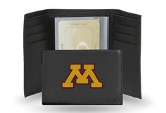 UNIVERSITY/MINNESOTA EMBROIDERED TRIFOLD
