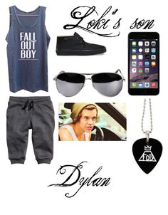 Loki's son:Dylan by liltwinki on Polyvore featuring polyvore, fashion, style, Vans and P & Lot