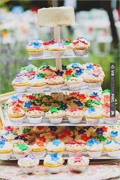 wedding cupcake ideas | CHECK OUT MORE IDEAS AT WEDDINGPINS.NET | #weddingcakes
