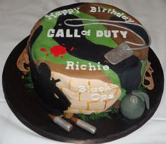 Call to duty black ops cakes | call of duty black ops cake i made this cake for my little brother ...