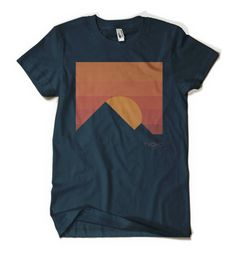 Sunrise behind the Pyramids t-shirt. #tycho