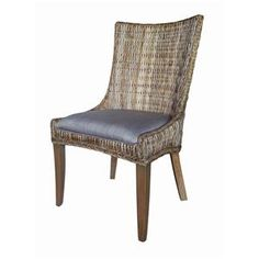Matisse+Country+Cottage+Woven+Dining+Chair+with+Cushioned+Seat