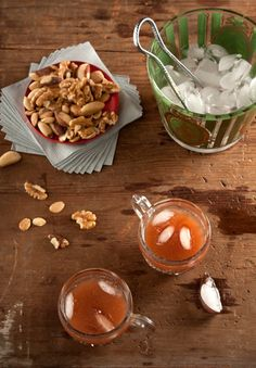 Sherry Season Punch balances the bite of sherry and corn whiskey with nutty homemade orgeat syrup and fresh citrus juice.