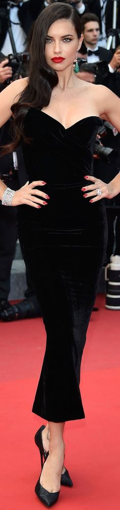 Adriana Lima 2015 Cannes Film Festival