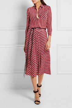 Altuzarra | Striped silk crepe de chine shirt | NET-A-PORTER.COM