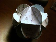 Holly Goes Lightly: DIY Wedding Card Ornaments