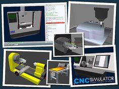 CncSimulator Pro, realistic CNC simulations