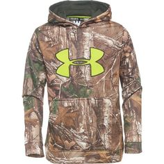 Under Armour® Boys' Scent Control AF Hoodie
